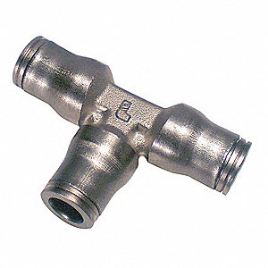 "Adapter,13/32"",Tube,Nickel Plated Brass"