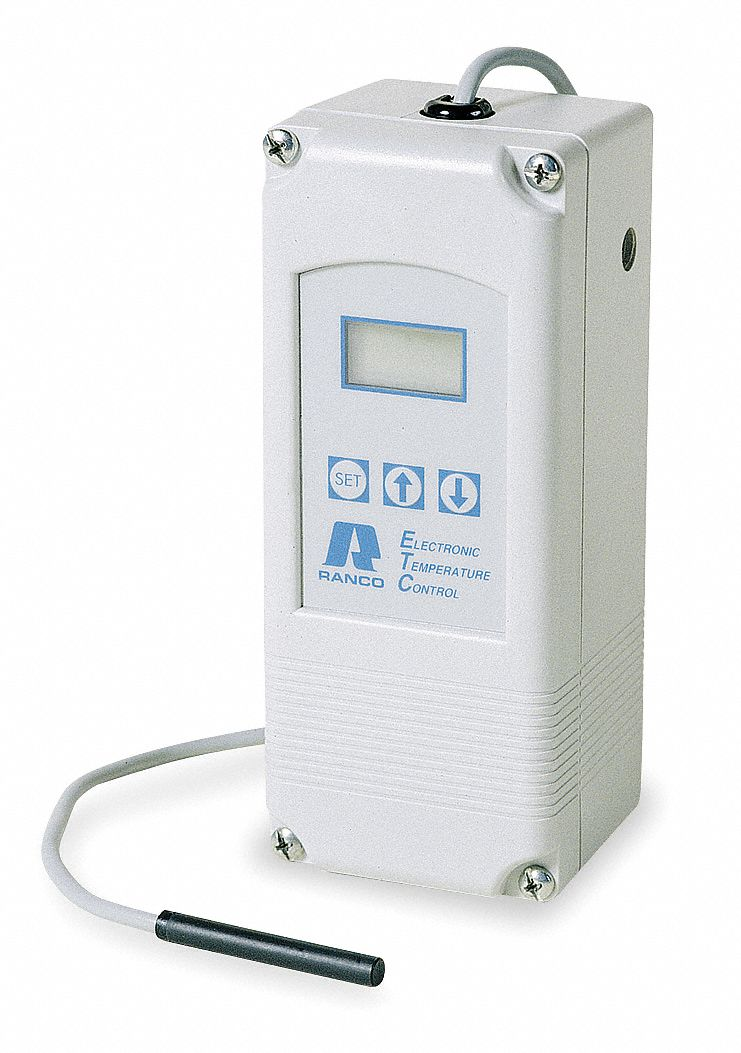 Electronic Temperature Control, SPDT, -30° to 220°F, NEMA 1 Enclosure Type