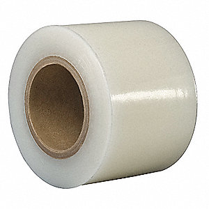 "Polyethylene Surface Protection Tape, Acrylic Tape Adhesive, 2.00 mil Thick, 2"" X 600 ft., Clear, 1"