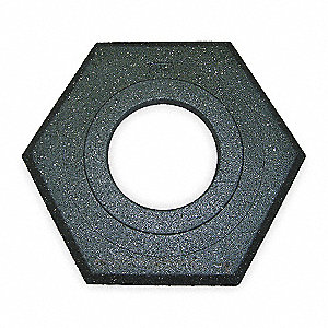 Trim Line Base,Black,20 x 17 x 2 In.
