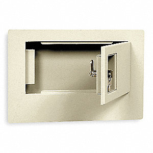 Wall Safe, 475 Cu.-Ft, Key Lock