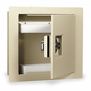Wall Safe, 670 Cu.-Ft., Combo Lock