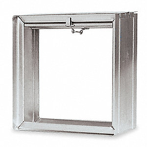 Square Fire Damper,11-3/4 In. W