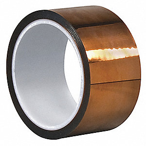 "Dupont Kapton Polyimide Film Tape, 3"" Width, 100 ft. Length, 5 mil Thickness"