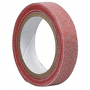 Reclosable Fastener,3/4 In x 20 ft,Red