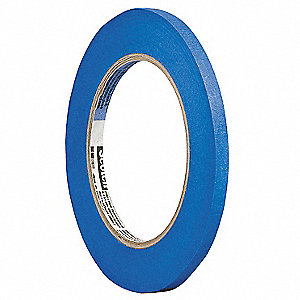 "Painters Masking Tape, 60 yd. x 1/4"", Blue, 5 mil"