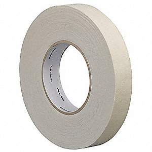 Cloth Tape,Cotton,White,60 yd. L x 3in W