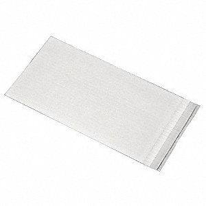 "Polyethylene Foam Double Sided Foam Tape, Acrylic Adhesive, 1/16"" Thick, 1"" X 4"", White"