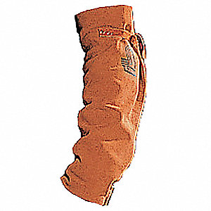 Flame-Resistant Sleeve,Unv,18In,Brown,PR