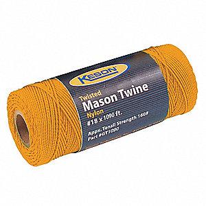 MASON TWINE 1090 FT L NYLON ORANGE