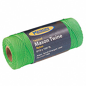 MASON TWINE 1090 FT L NYLON GREEN