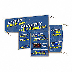 Quality Control Sign,28 x 20In,AL,ENG