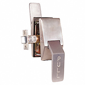 Quiet Push-Pull Latch, Vertical Mounting