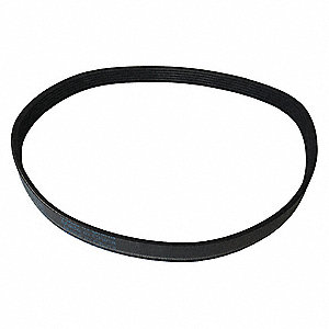 "Snow Blower Belt, Black, 9-27/32"" H"