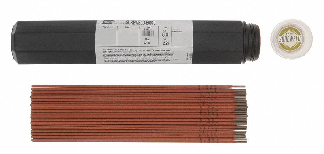 "ESAB Sureweld 812000008 6010 3//32/"" Stick Electrodes Welding Rods"