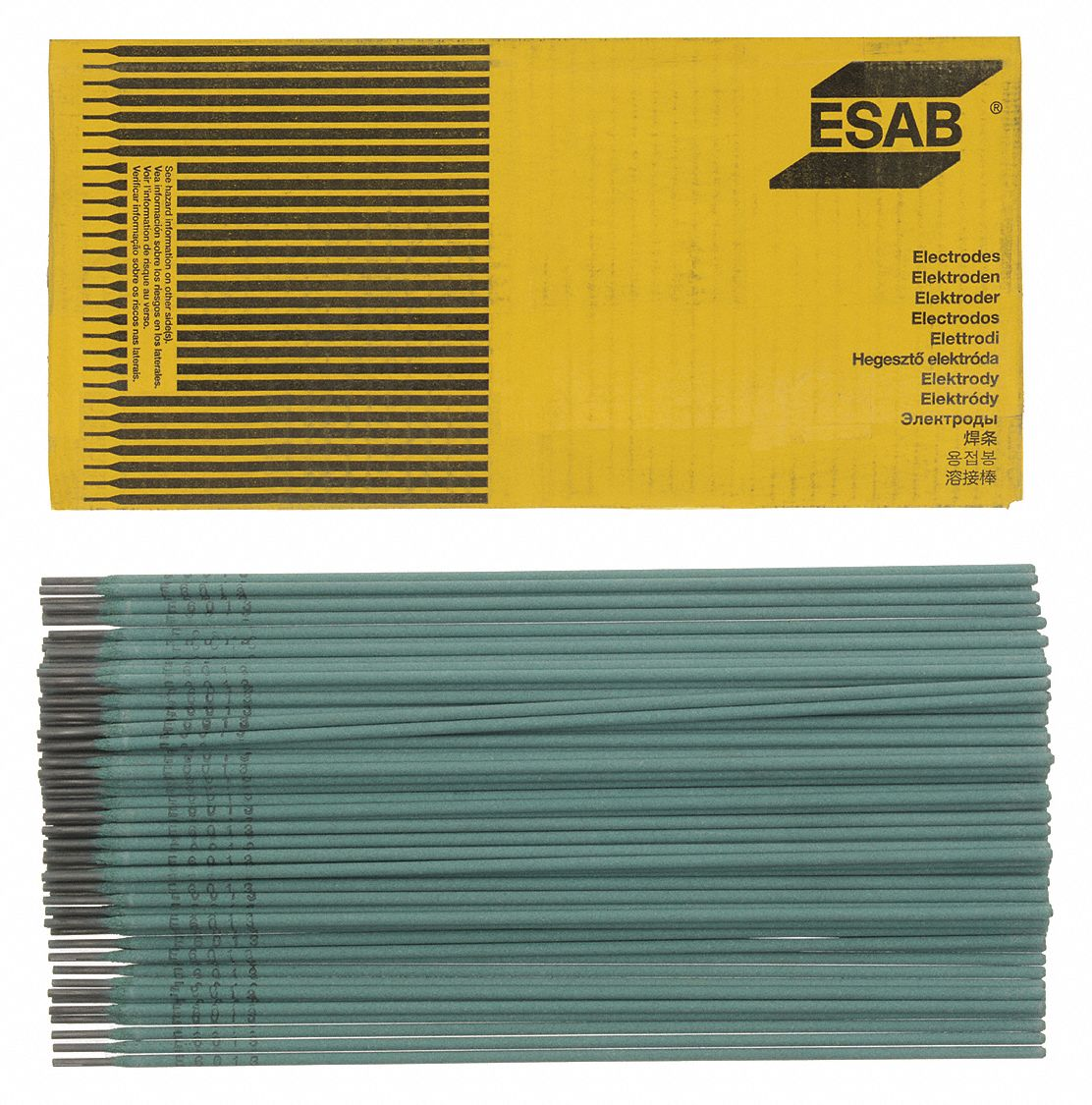 """E6013 ESAB Sureweld 1//8/"""" x 14/"""" 11 lbs electrode stick welding rod Made In USA!"""