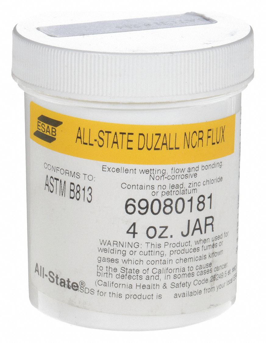 Paste Flux, Plastic Jar, 4 oz.