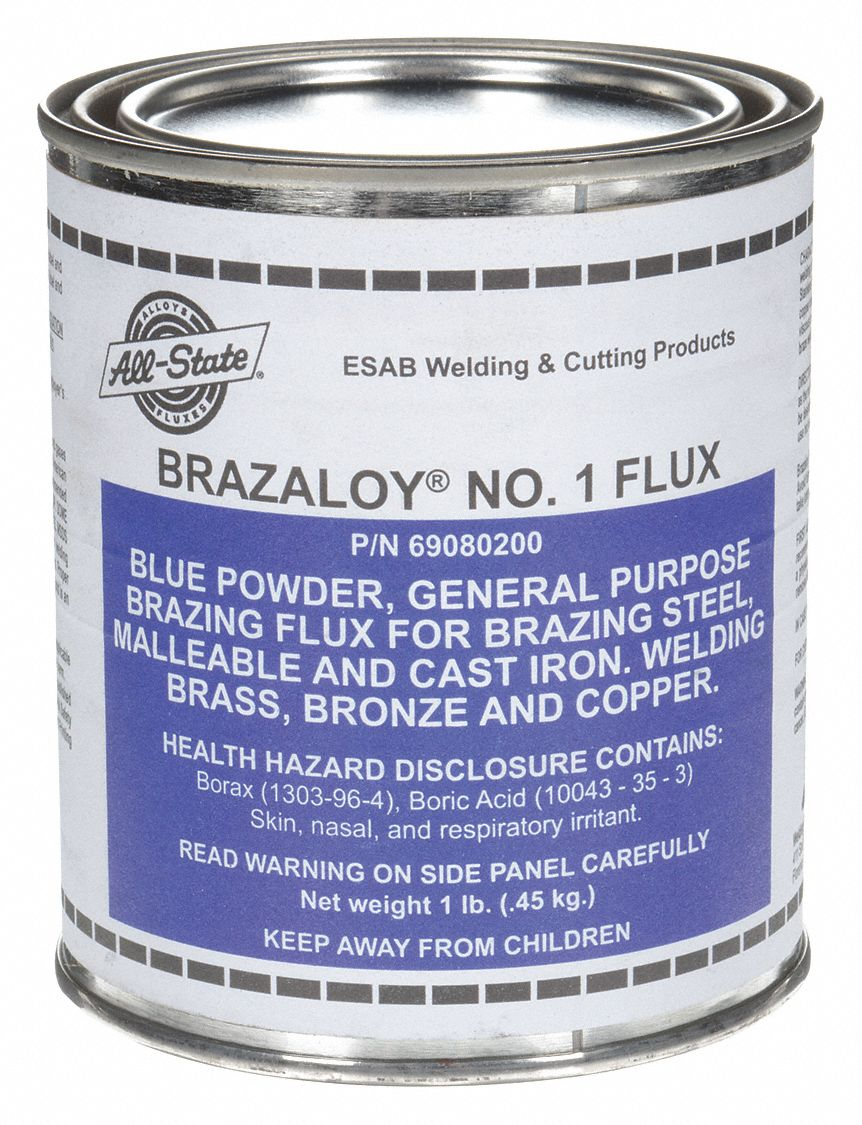 Brazing Flux, Tin Can, 1 lb.