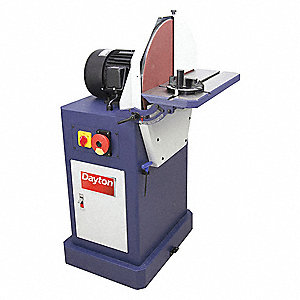 "Disc Sander, 220 Voltage, 20"" Disc dia."