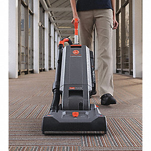 "1-1/4 gal. Capacity Bagged Upright Cordless Vacuum with 13"" Cleaning Path, 80 cfm, HEPA Filter Type,"