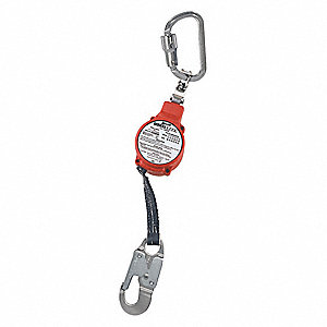 Carabiner,3000 lb. Tensile Strength,Red