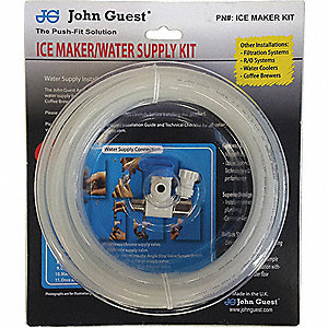 Plastic Water Supply Line Kit For Ice Makers Filtration Humidifiers Evaporation Coolers