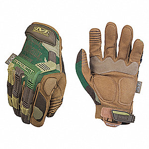"Tactical Glove,MultiCam Camo,XL,10"" L,PR"
