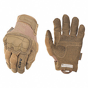 "Tactical Glove,Coyote Tan,XL,10"" L,PR"