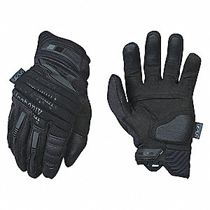 "Tactical Glove,Black,2XL,11"" L,PR"