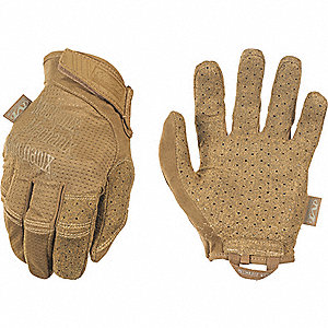 "Tactical Glove, Coyote Tan, XL, 10"" L, PR"