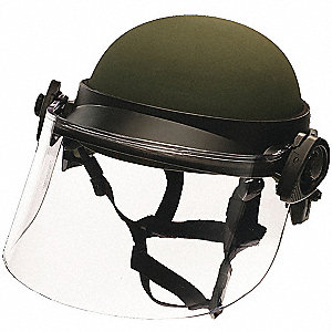 Faceshield, Clear, Universal, Non-Ballistic