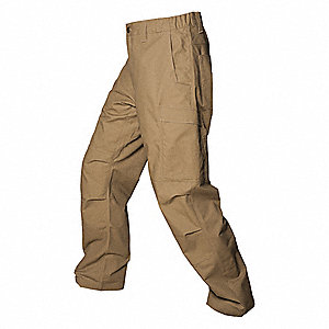 "Men's Tactical Pants. Size: 38"", Fits Waist Size: 38"", Inseam: 30"", Desert Tan"