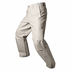 "Men's Tactical Pants. Size: 48"", Fits Waist Size: 48"", Inseam: 36"", Khaki"