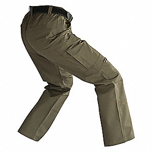 "Women's Tactical Pants. Size: 2, Fits Waist Size: 2"", Inseam: 30"", Khaki"