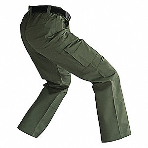 "Women's Tactical Pants. Size: 6, Fits Waist Size: 6"", Inseam: 30"", OD Green"