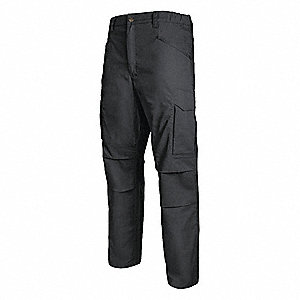 "Men's Tactical Pants. Size: 44"", Fits Waist Size: 44"", Inseam: 32"", Black"