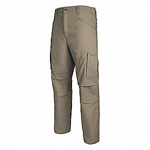 "Men's Tactical Pants. Size: 40"", Fits Waist Size: 40"", Inseam: 30"", Desert Tan"