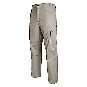 "Men's Tactical Pants. Size: 44"", Fits Waist Size: 44"", Inseam: 30"", Khaki"