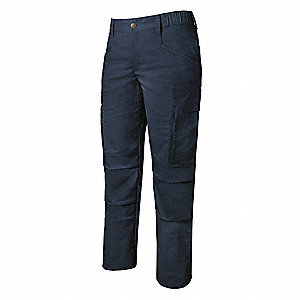 "Women's Tactical Pants. Size: 2, Fits Waist Size: 2"", Inseam: 34"", Navy"