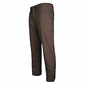 "Men's Tactical Pants. Size: 40"", Fits Waist Size: 40"", Inseam: 34"", Seal Brown"