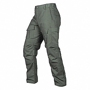"Men's Tactical Pants. Size: 40"", Fits Waist Size: 40"", Inseam: 32"", OD Green"
