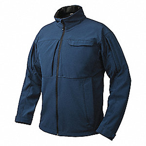 "Downrange Jacket, 2XL Fits Chest Size 50"" to 52"", Bering Blue Color"