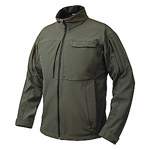 "Downrange Jacket, L Fits Chest Size 42"" to 44"", Slate Gray Color"