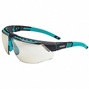 Uvex Avatar Scratch-Resistant Safety Glasses, Reflect 50 Lens Color