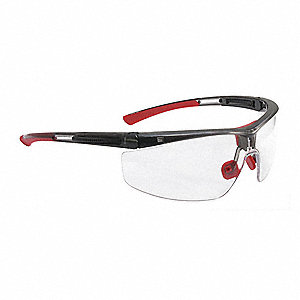 Safety Glasses,Clear Lens,Unisex