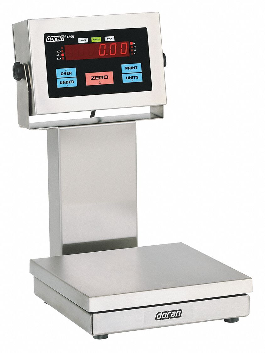 Bench Scale,  Scale Application IP69K Washdown Scale,  Scale Type Bench,  LED Scale Display