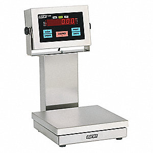 25 lb. Digital LED Platform Bench Scale with Remote Indicator