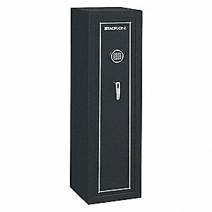 5.96 cu. ft. Gun Safe, 129 lb. Net Weight, Not Rated Fire Rating, Electronic Lock Style