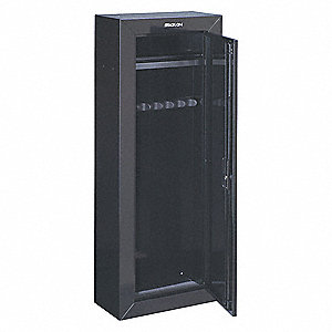 Weapon Storage CabinetRifle StyleBlk  sc 1 st  Grainger & STACK-ON Weapon Storage CabinetRifle StyleBlk - 402L99|GCB-908-DS ...