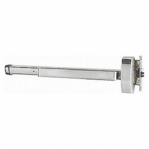 Exit Device, Series 2300, Satin Stainless Steel, Mortise